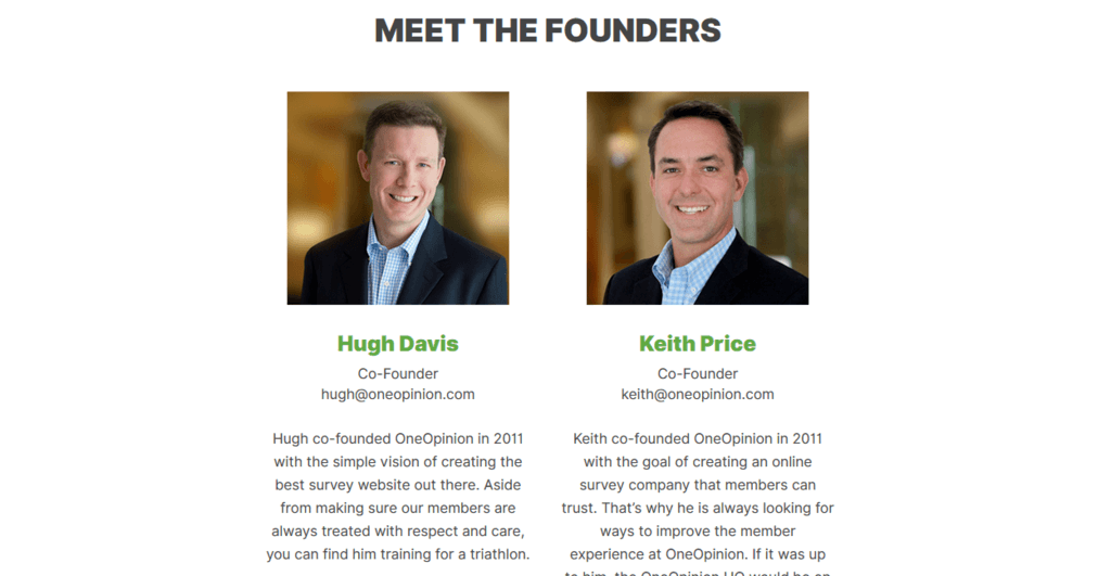 oneopinion founders