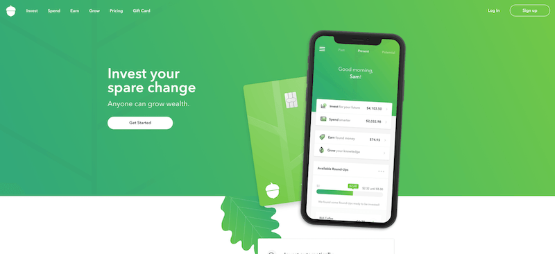 Acorns Sign Up