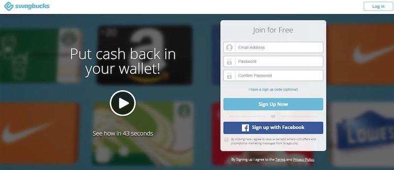 swagbucks homepage