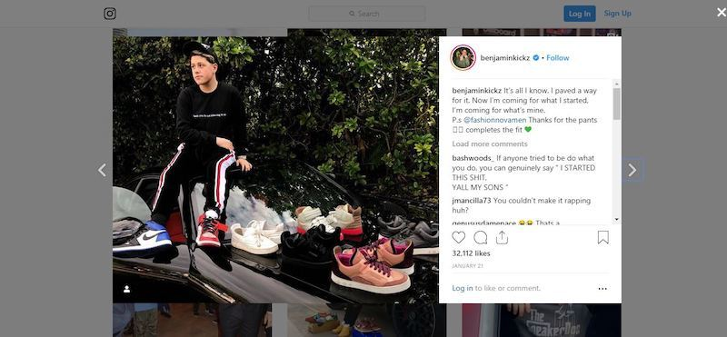 selling shoes as an online job for a teen
