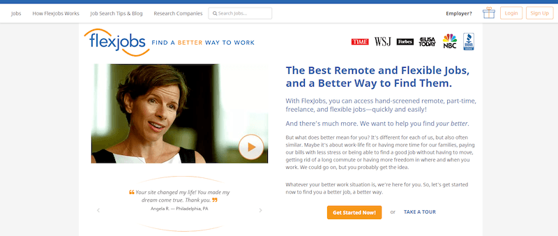 Flexjobs Best Freelance Websites