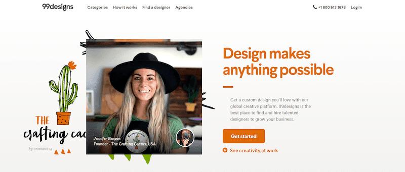 99designs Best Freelance Websites