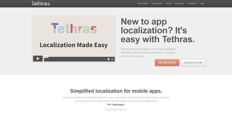 Tethras Online Translation Jobs