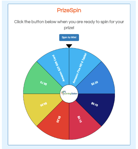 EarningStation Prize Wheel
