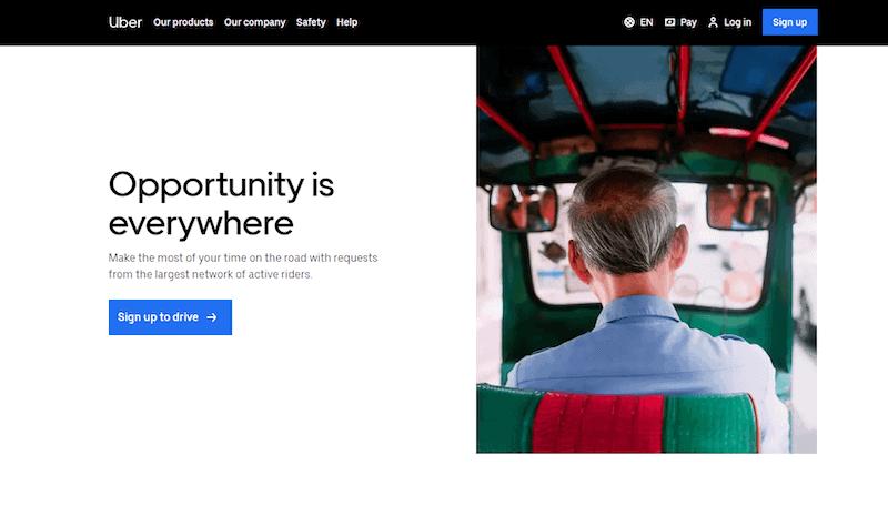 Uber as a side hustle
