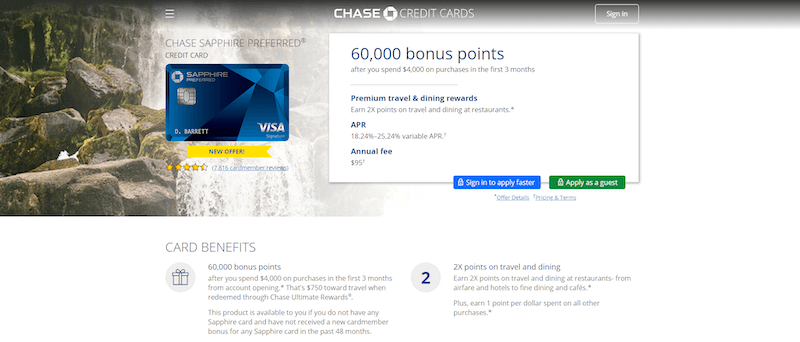 make money fast with Chase Rewards