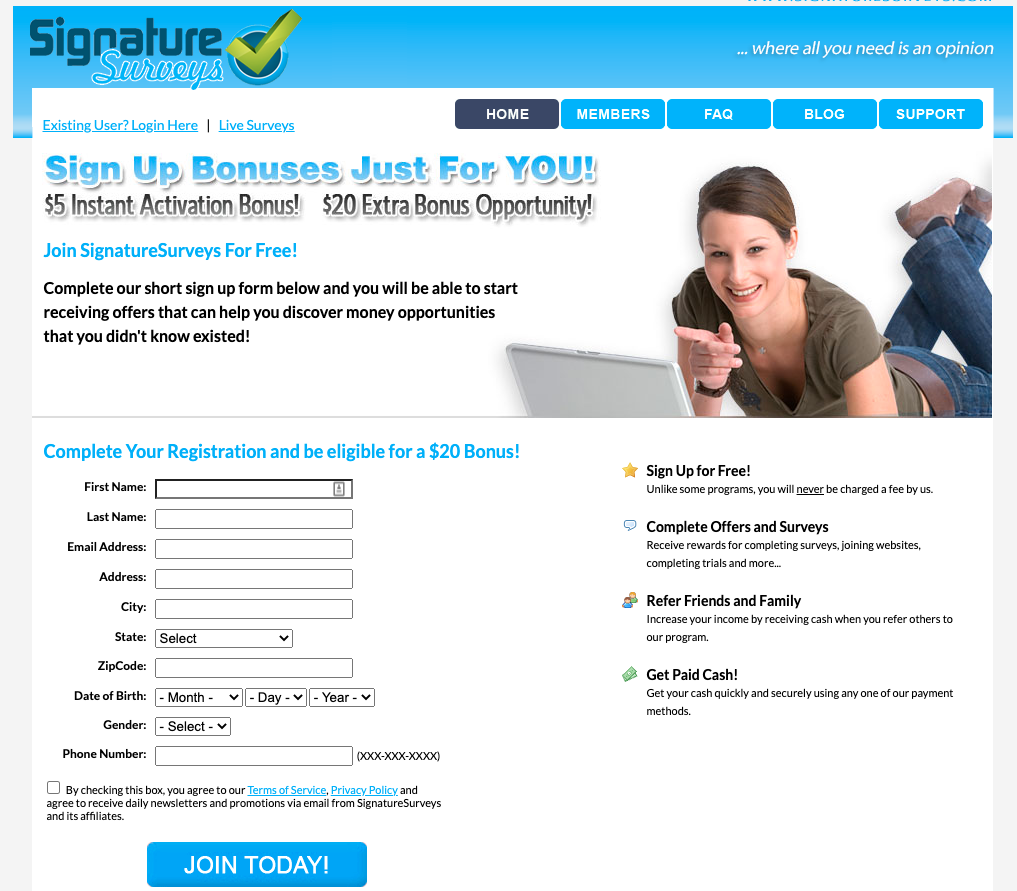 Signature Surveys Review